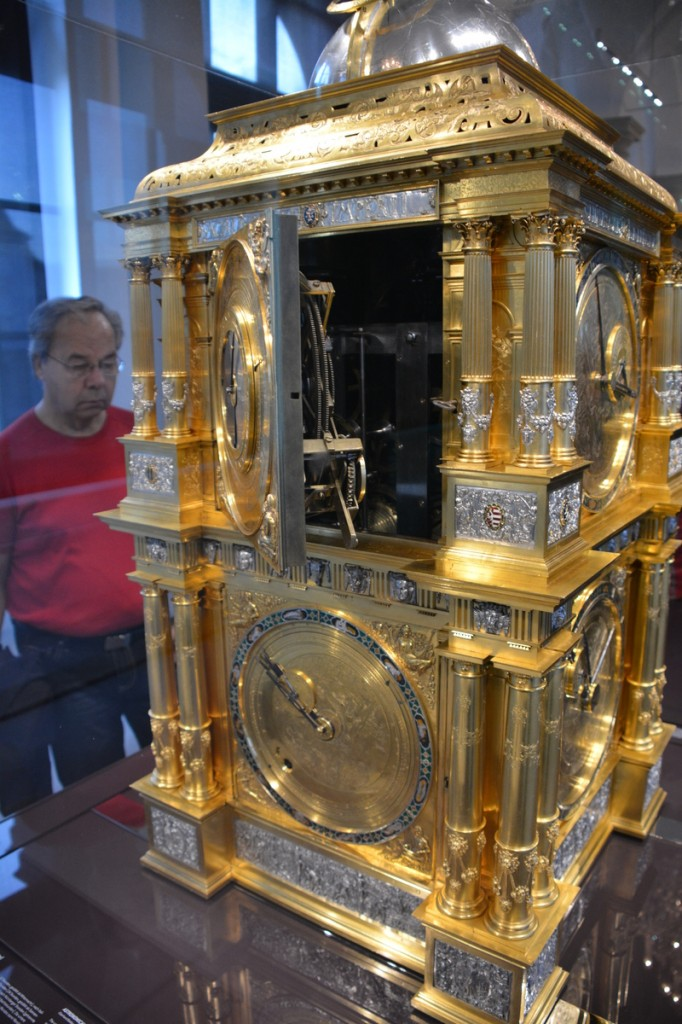 This is the most fascinating clock I have ever seen--a mechanical machine which can track the positions of all the planets including Saturn's ~30 year orbit!