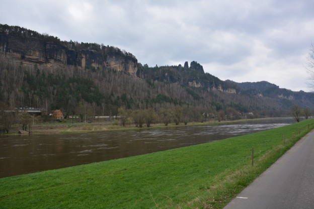 Cliffs above the Elbe